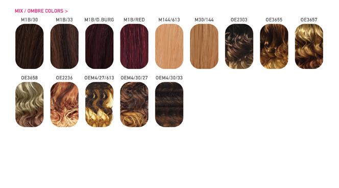 Color chart mix ombre colors pmusecretfo Gallery