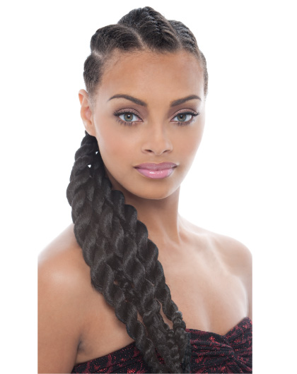 Hairstyles with Jumbo Braids