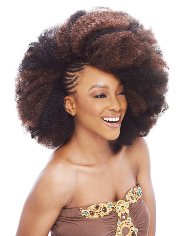 afro bulk hair styles styling of afro hairstylegalleries 8608