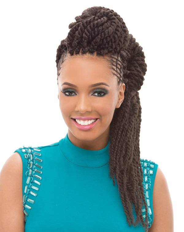 Janet Collection Noir Premium Synthetic Hair Afro Twist