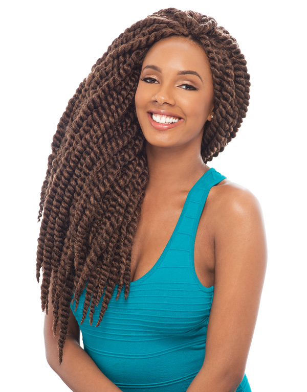 ... 2X MAMBO TWIST BRAID 24 - HAVANA MOMBO STYLE CROCHET BRAIDING HAIR