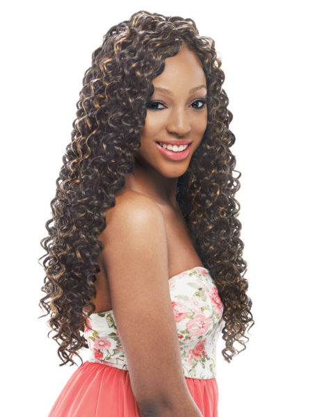 Crochet Braids European Hair : EUROPEAN CURL BRAID 24 -