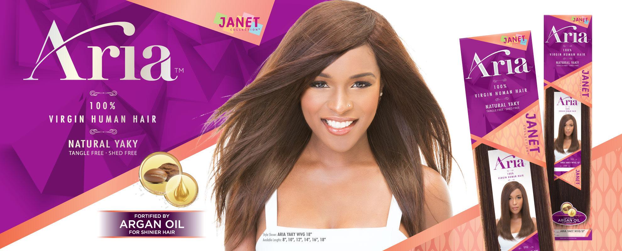 Janet 100 Virgin Human Hair Aria Weaving Buy 1 Get 1 Free