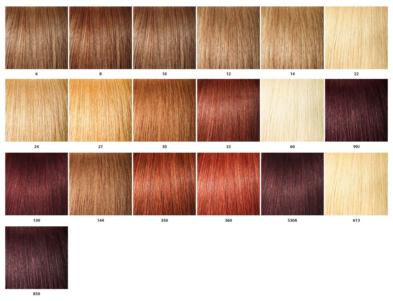 Hair Color Chart Numbers For Weave Best Hair Color 2018