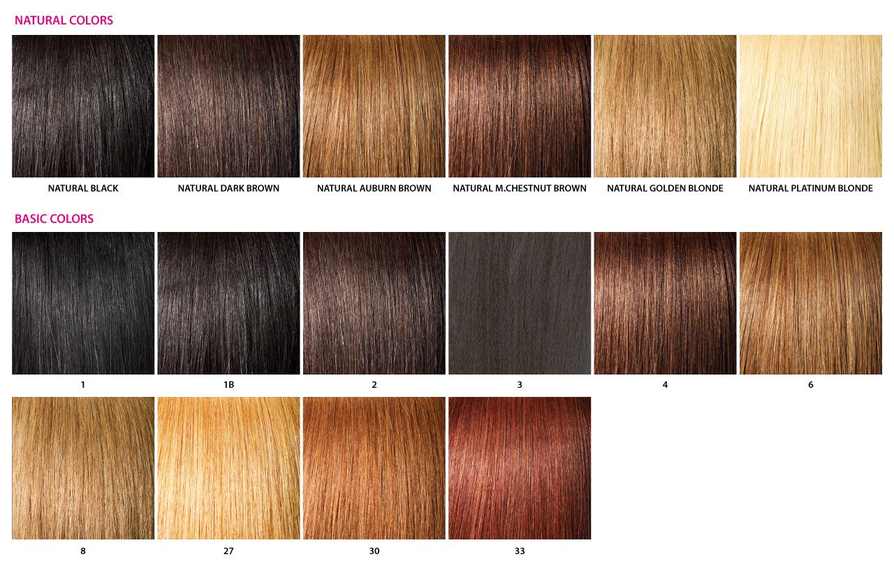 Picture Of Hair Color Chart Daily Health